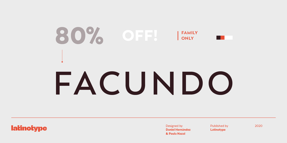 Special offer on Facundo