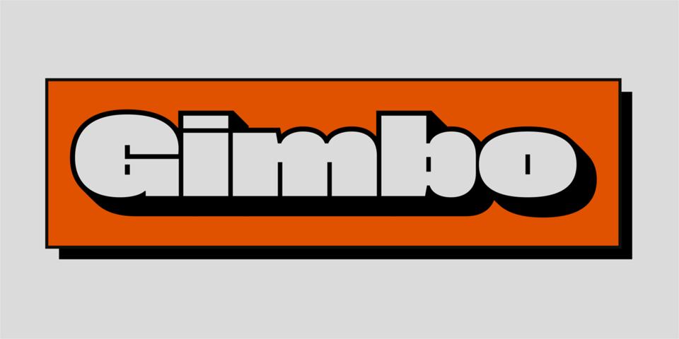 Gimbo font page