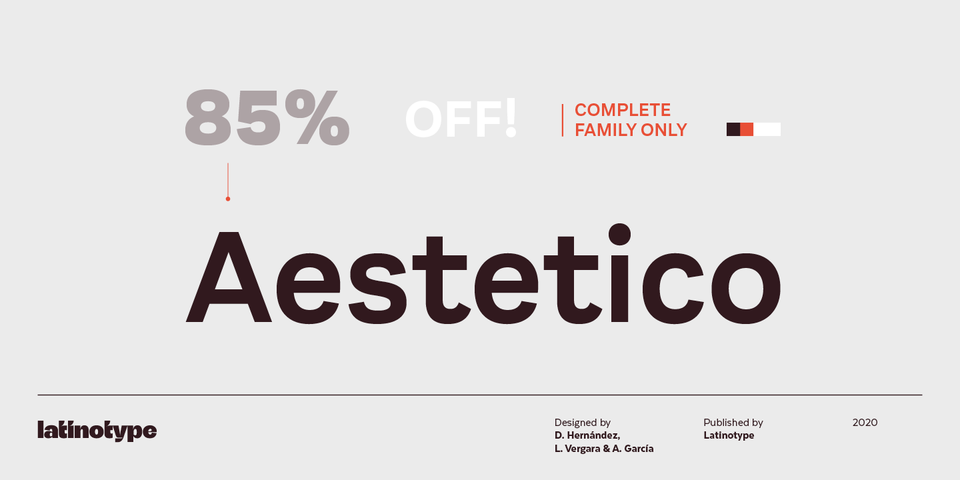 Special offer on Aestetico