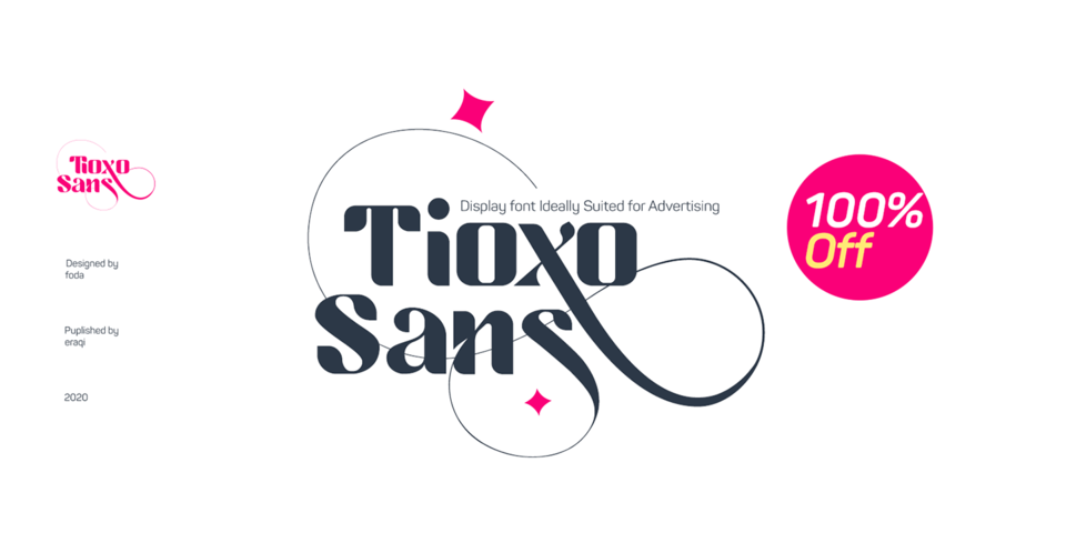 Special offer on Tioxo Sans