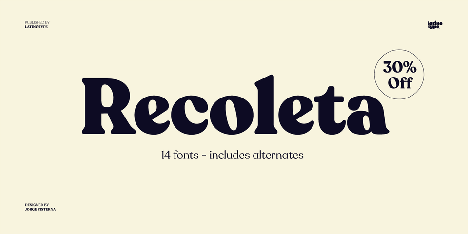 Special offer on Recoleta