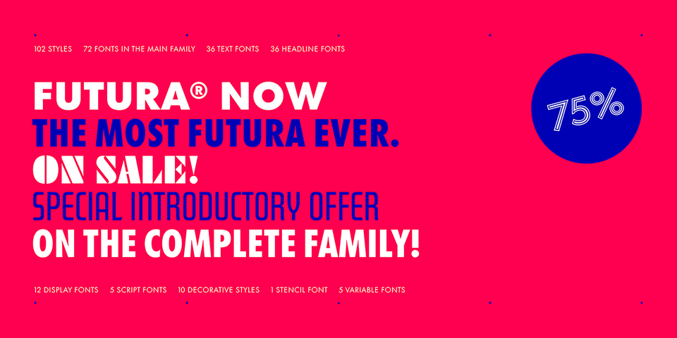 Special offer on Futura Now