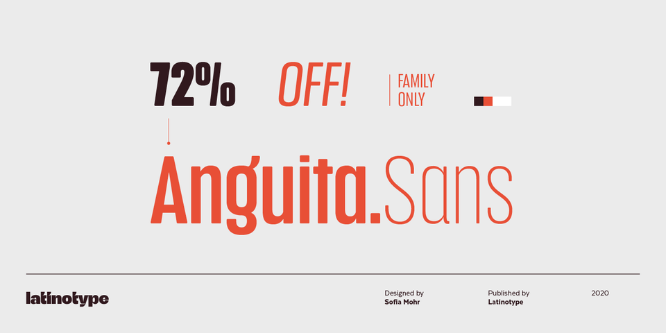Special offer on Anguita Sans