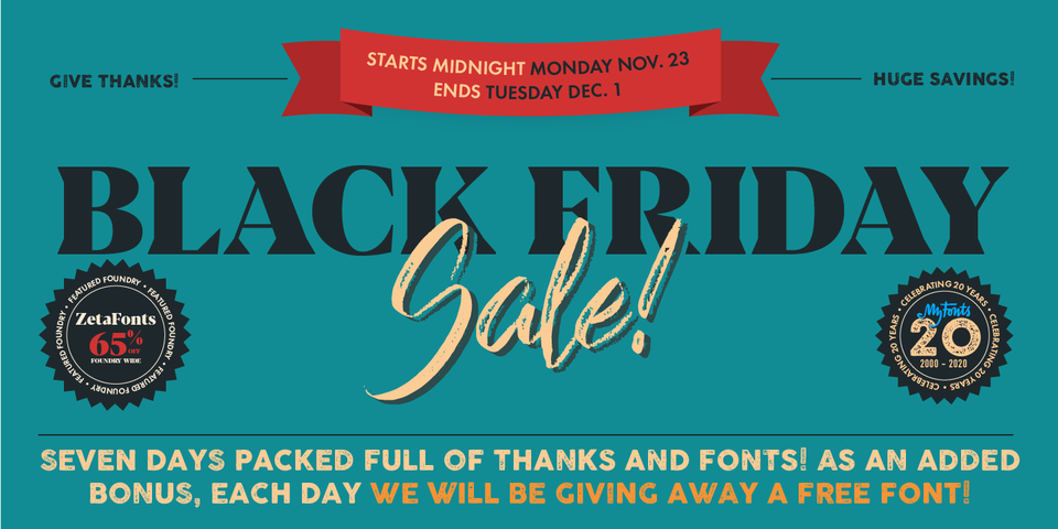 Special offer on Panforte Serif