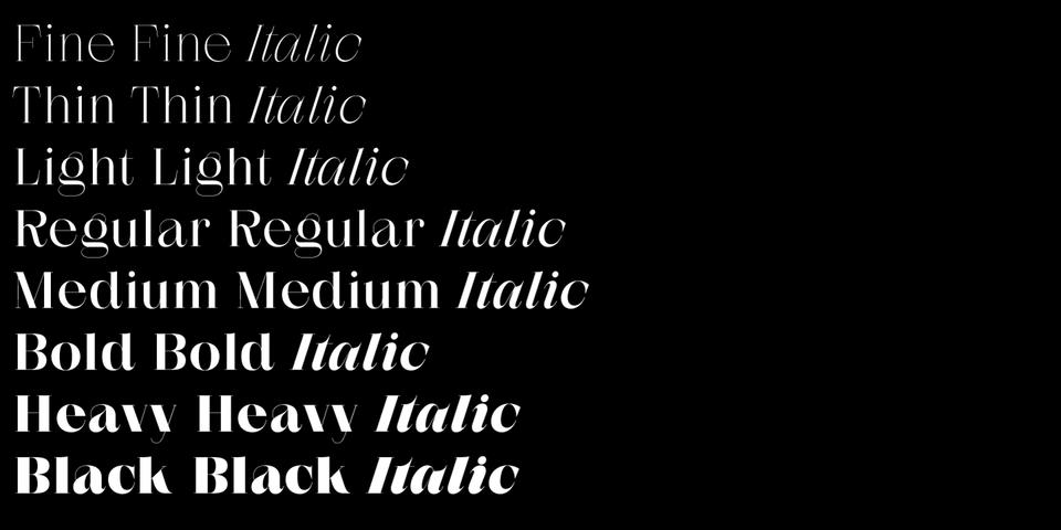 Zermatt font page