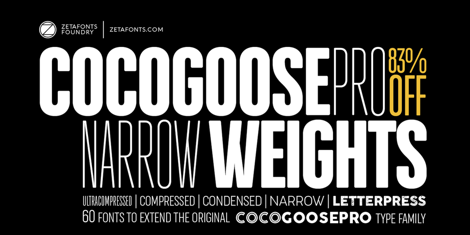 Special offer on Cocogoose Pro Narrows