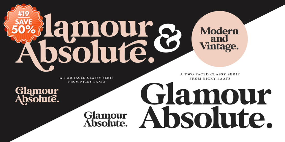 Special offer on Glamour Absolute