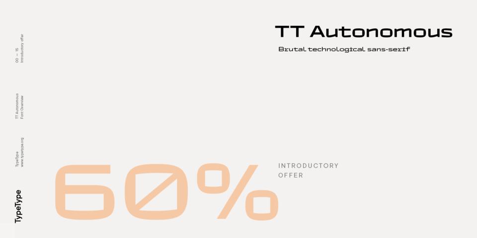 Special offer on TT Autonomous