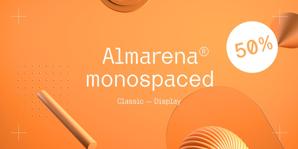 Special offer on Almarena Mono