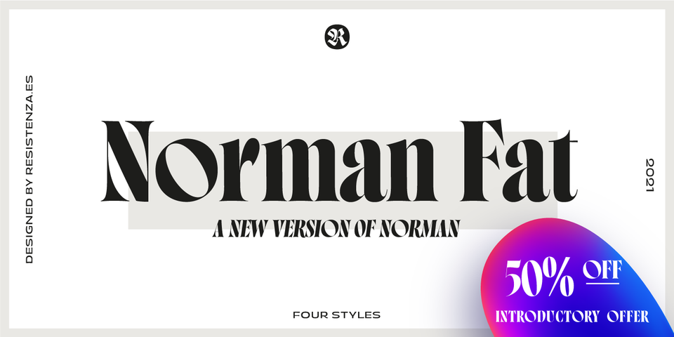 Special offer on Norman Fat