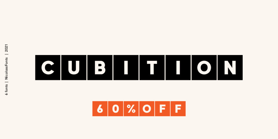 Special offer on Cubition
