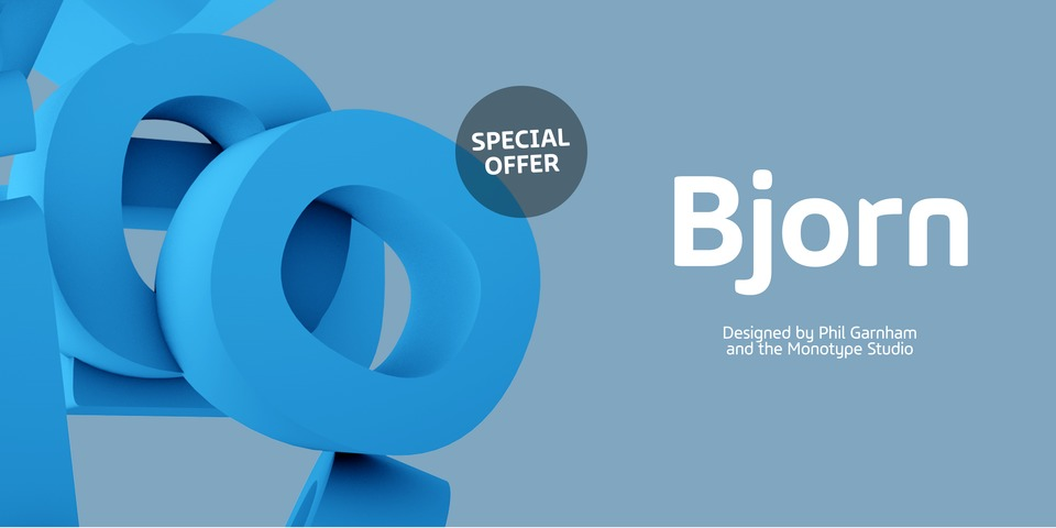 Special offer on Bjorn