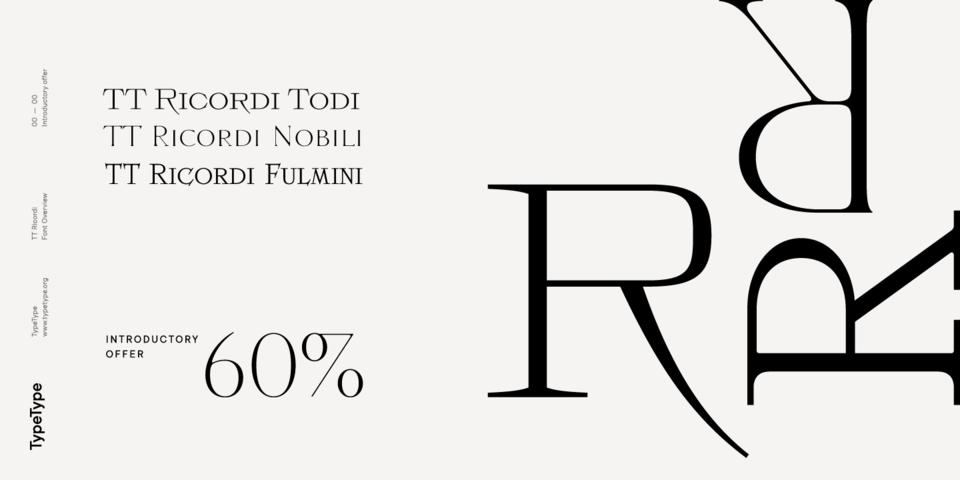 Special offer on TT Ricordi