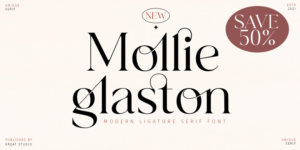 Special offer on Mollie Glaston