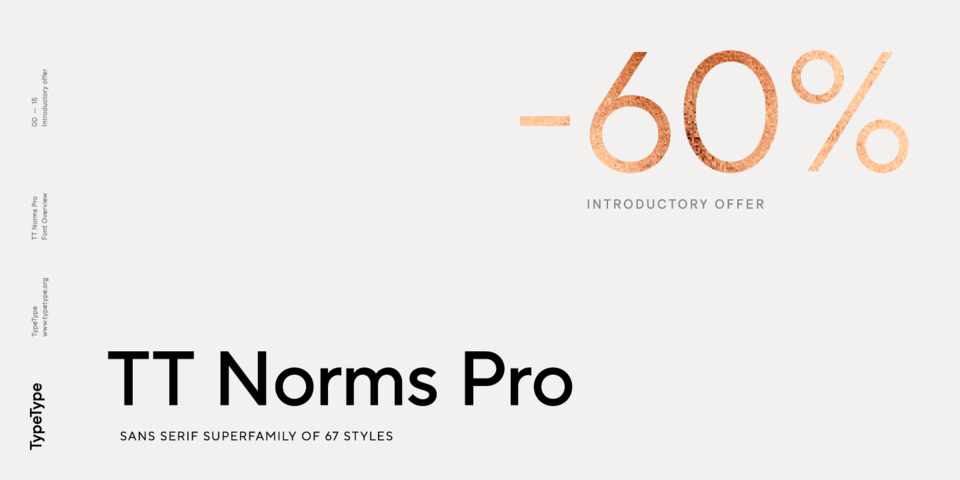 Special offer on TT Norms Pro