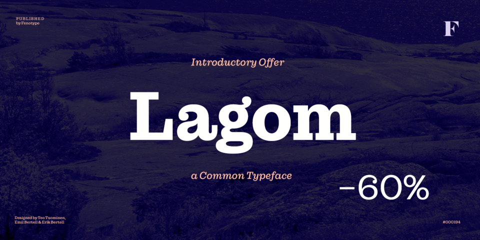 Special offer on Lagom