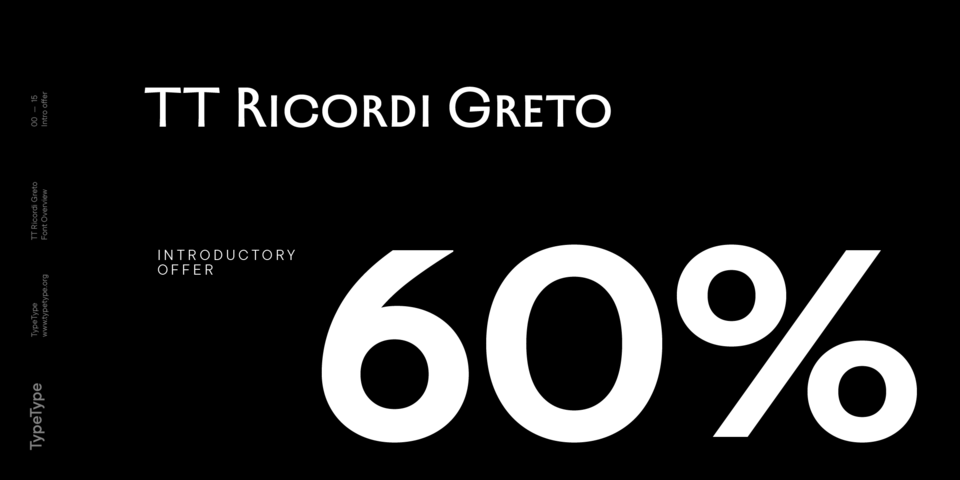 Special offer on TT Ricordi Greto