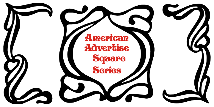 American Advertise Square Series