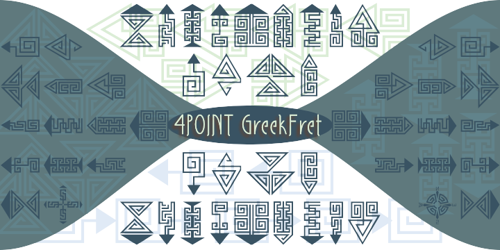 4 Point Greek Fret