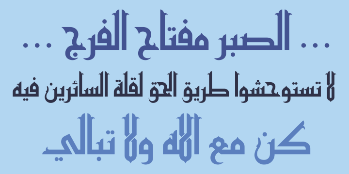 free download arabic calligraphy fonts