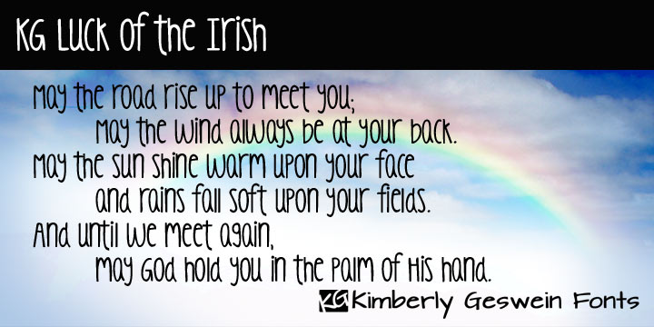 KG Luck Of The Irish