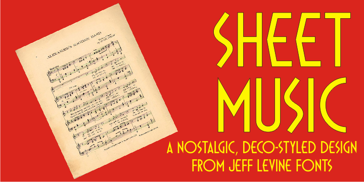 Sheet Music JNL