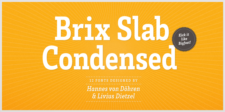 Brix Slab Condensed