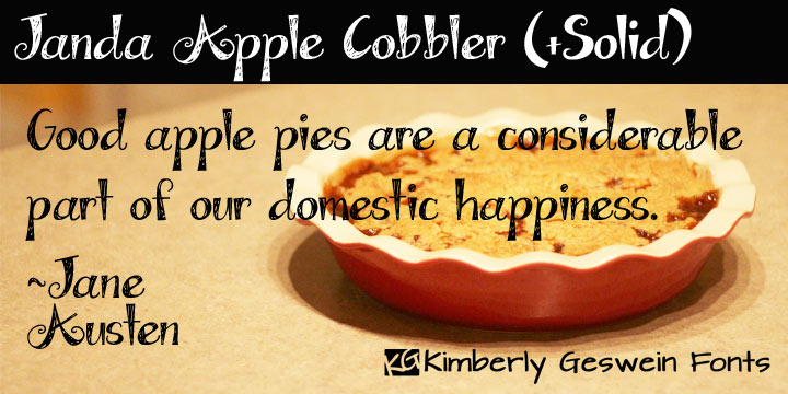 Janda Apple Cobbler