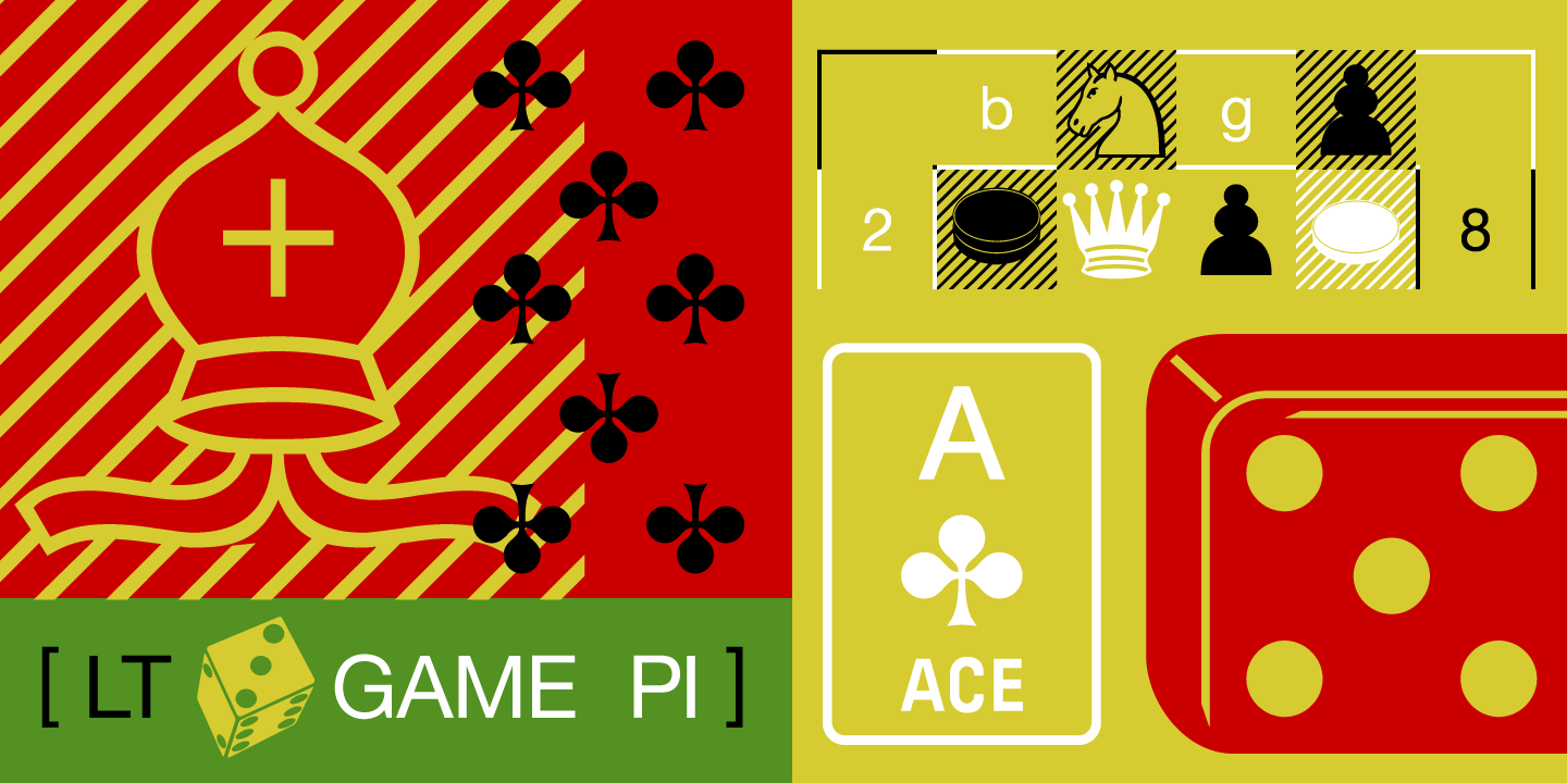 Linotype Game Pi