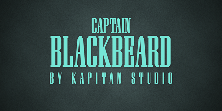 Captain Blackbeard