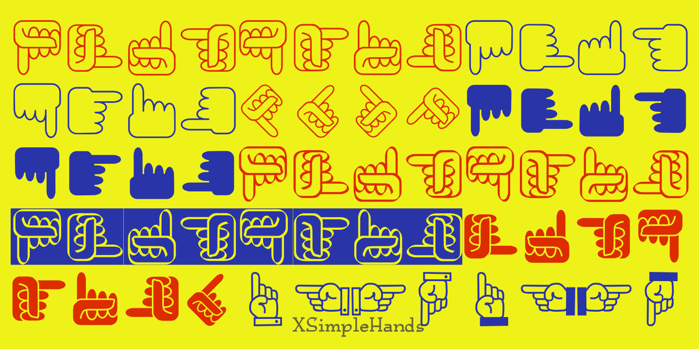 XSimple Hands