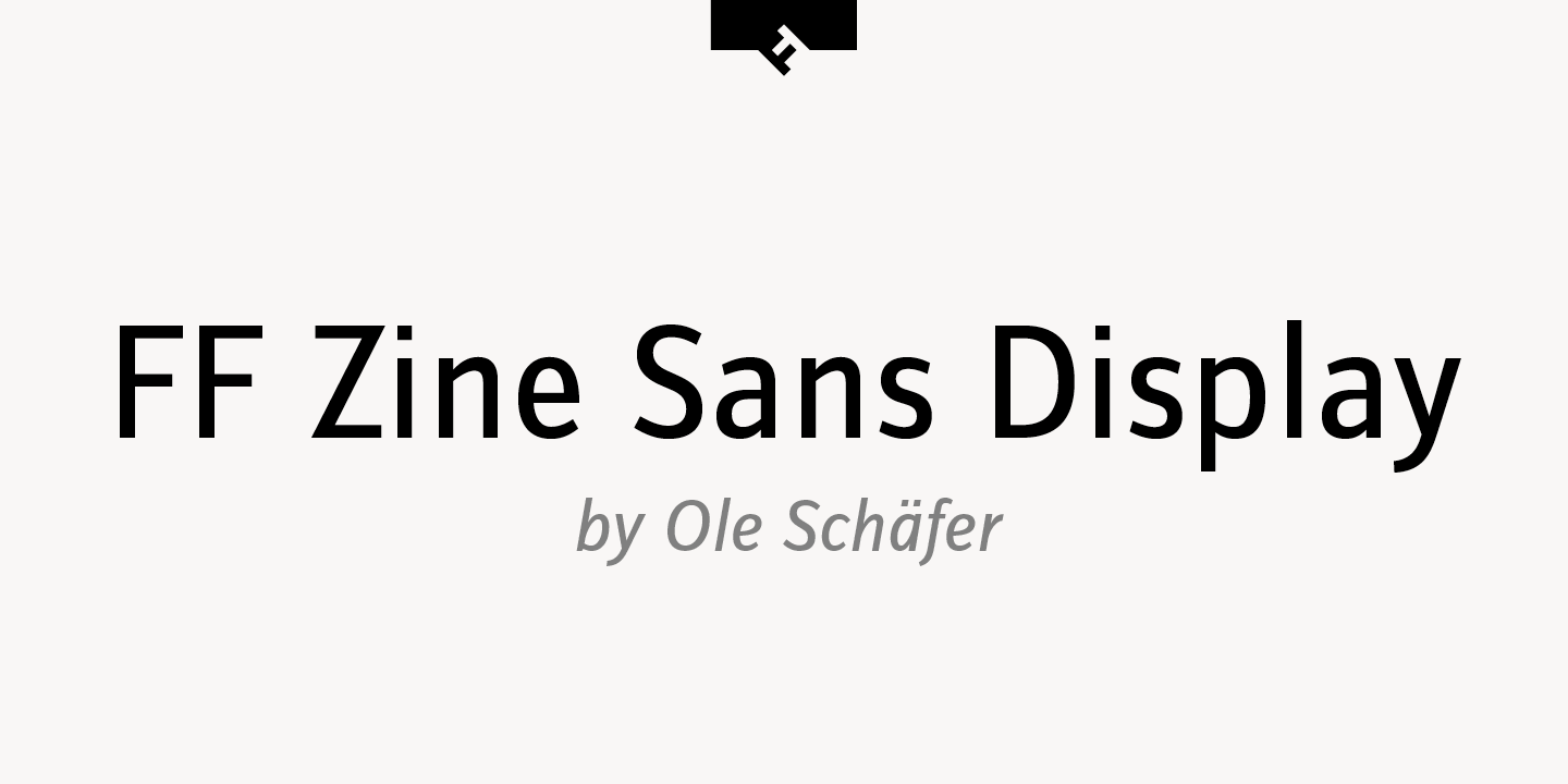 FF Zine Sans Display