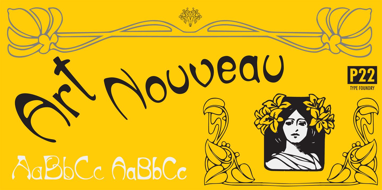 Art Nouveau Fonts Urban Fonts