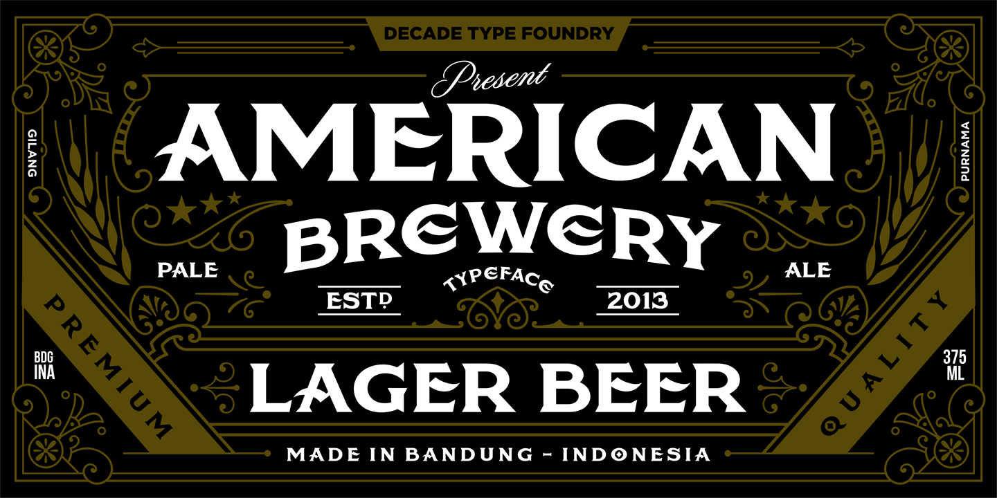 American Fonts - styles - FontSpace