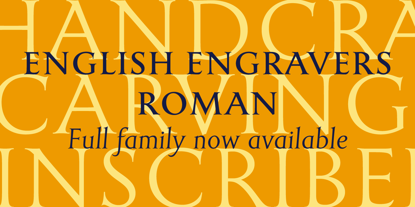 English Engravers Roman