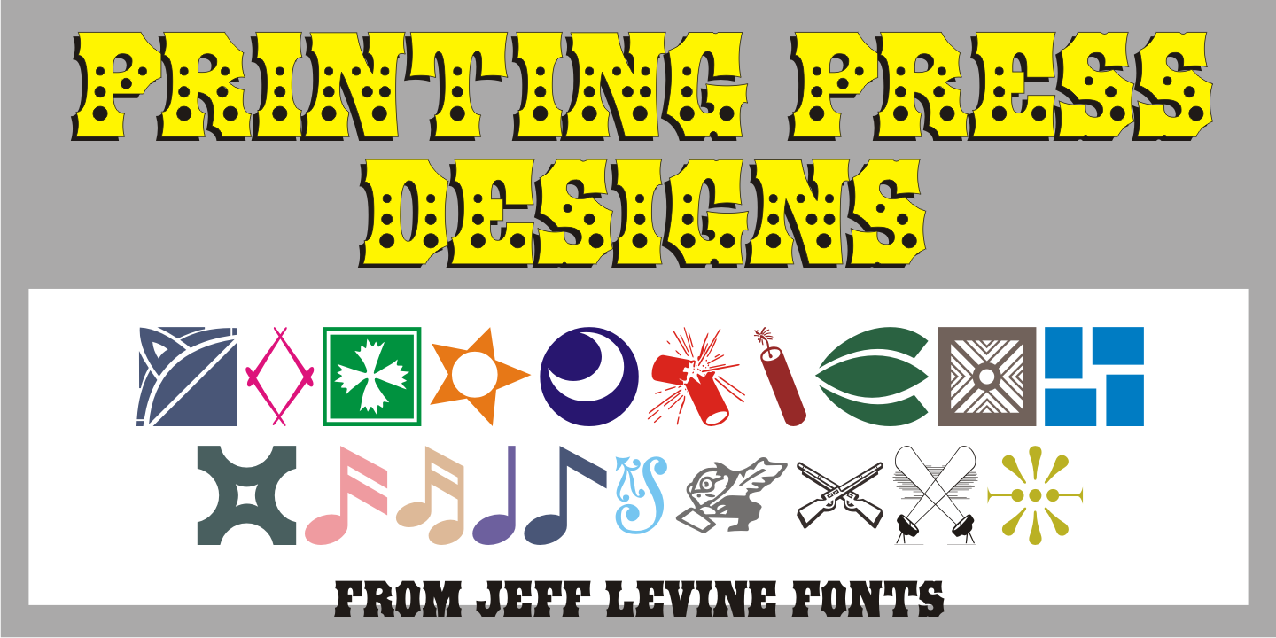 Printing Press Designs JNL