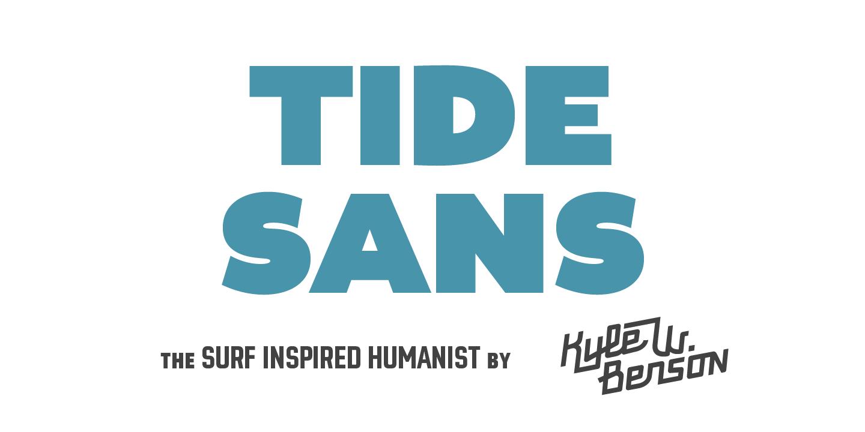 Best sellers premium fonts page 248 urban fonts -  Tide Sans