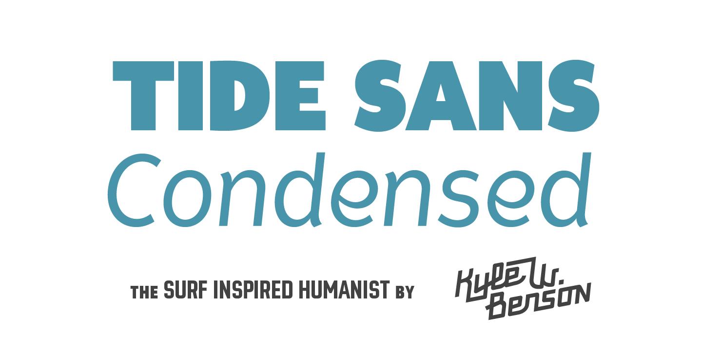 Best sellers premium fonts page 248 urban fonts -  Tide Sans Condensed