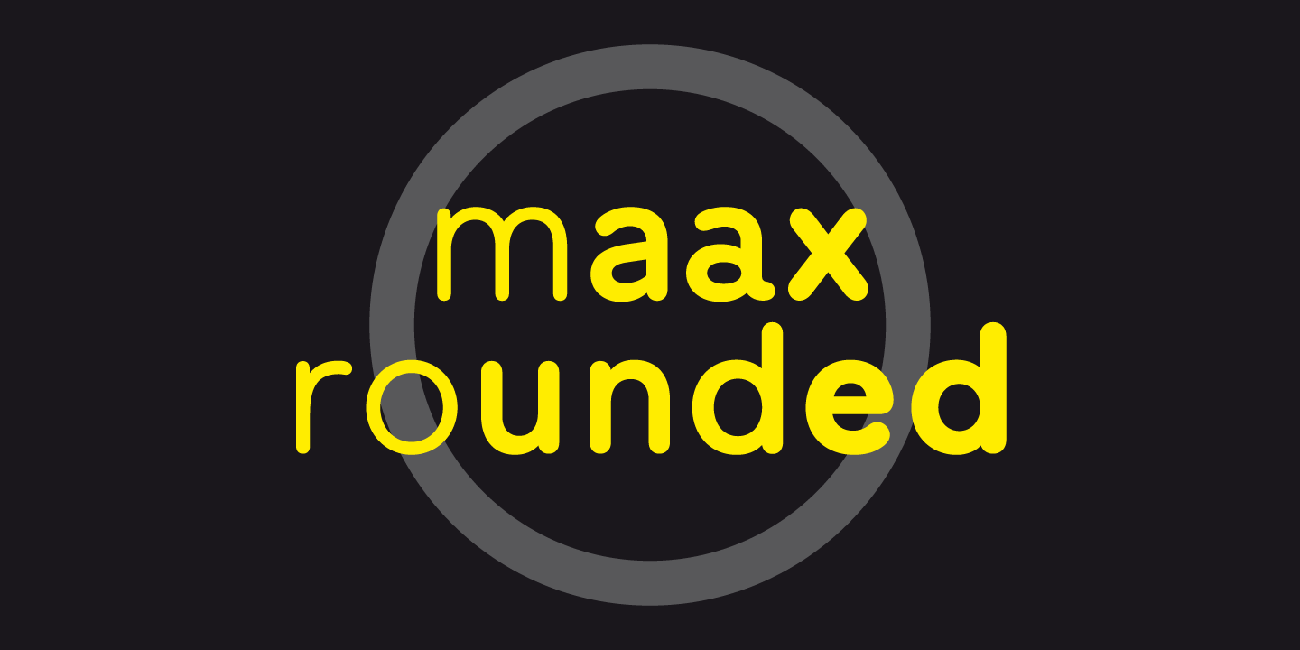 Maax Rounded