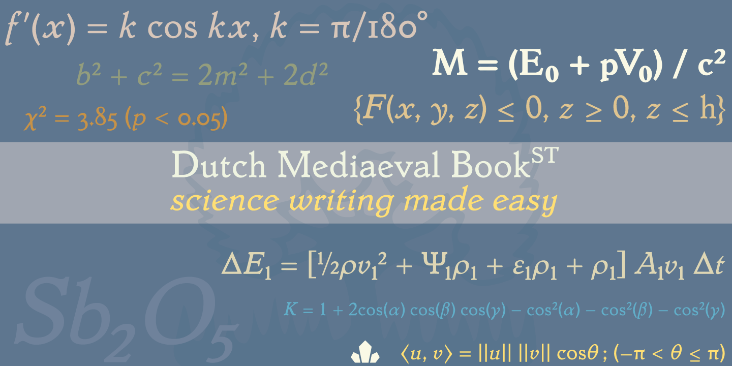 Dutch Mediaeval Book ST