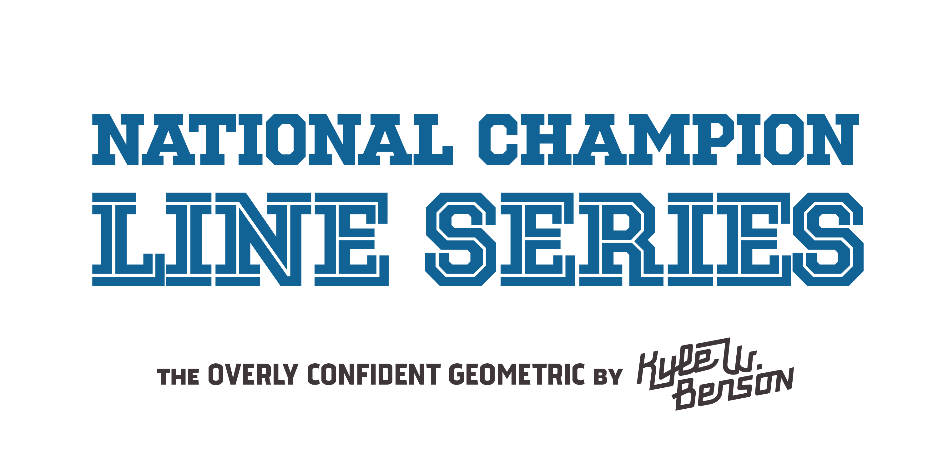 National Champion Line Series