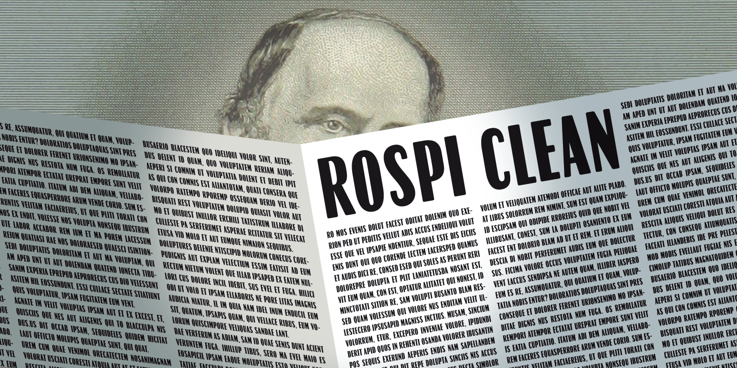 Rospi Clean and Retro
