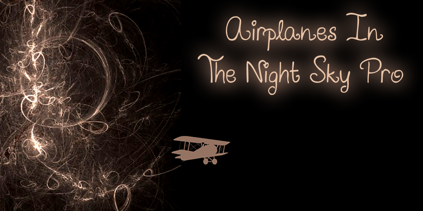 Airplanes In The Night Sky Pro