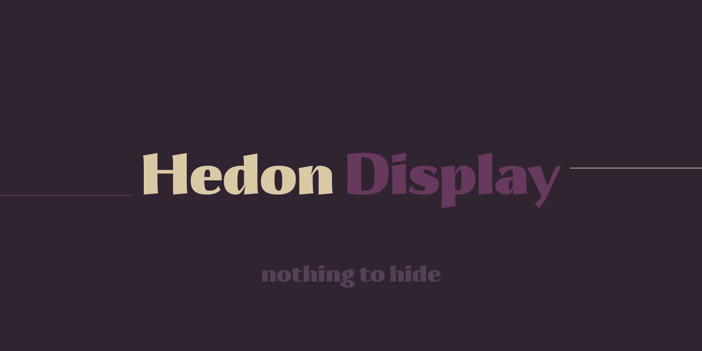 Hedon Display
