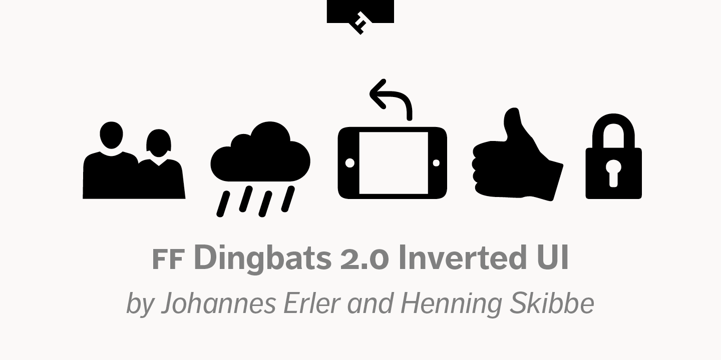 FF Dingbats 2.0 Inverted UI