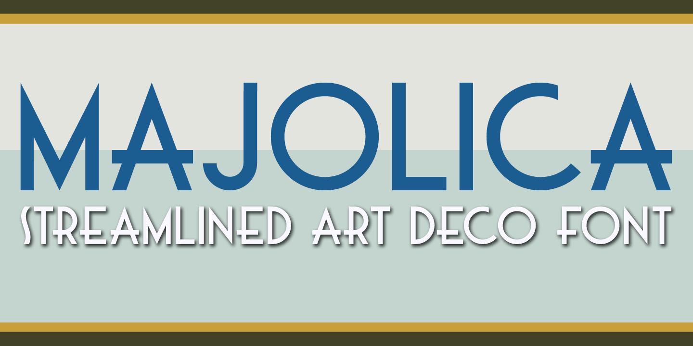 Best sellers premium fonts page 248 urban fonts -  Majolica Majolica