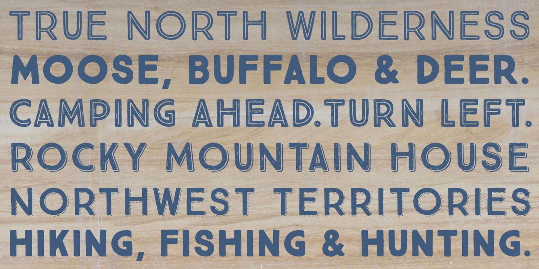 True North Font Family