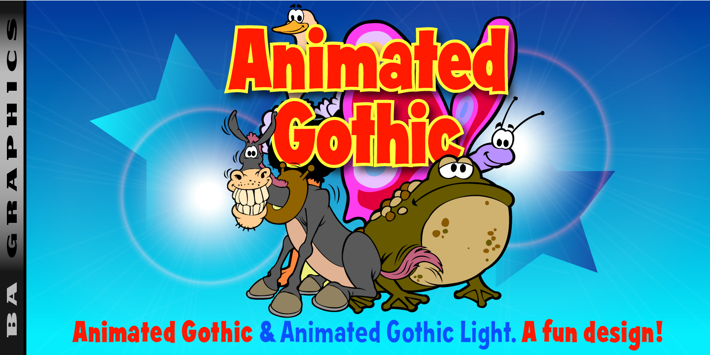 Animated Gothic