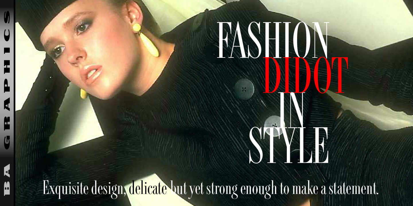 Fashion Didot