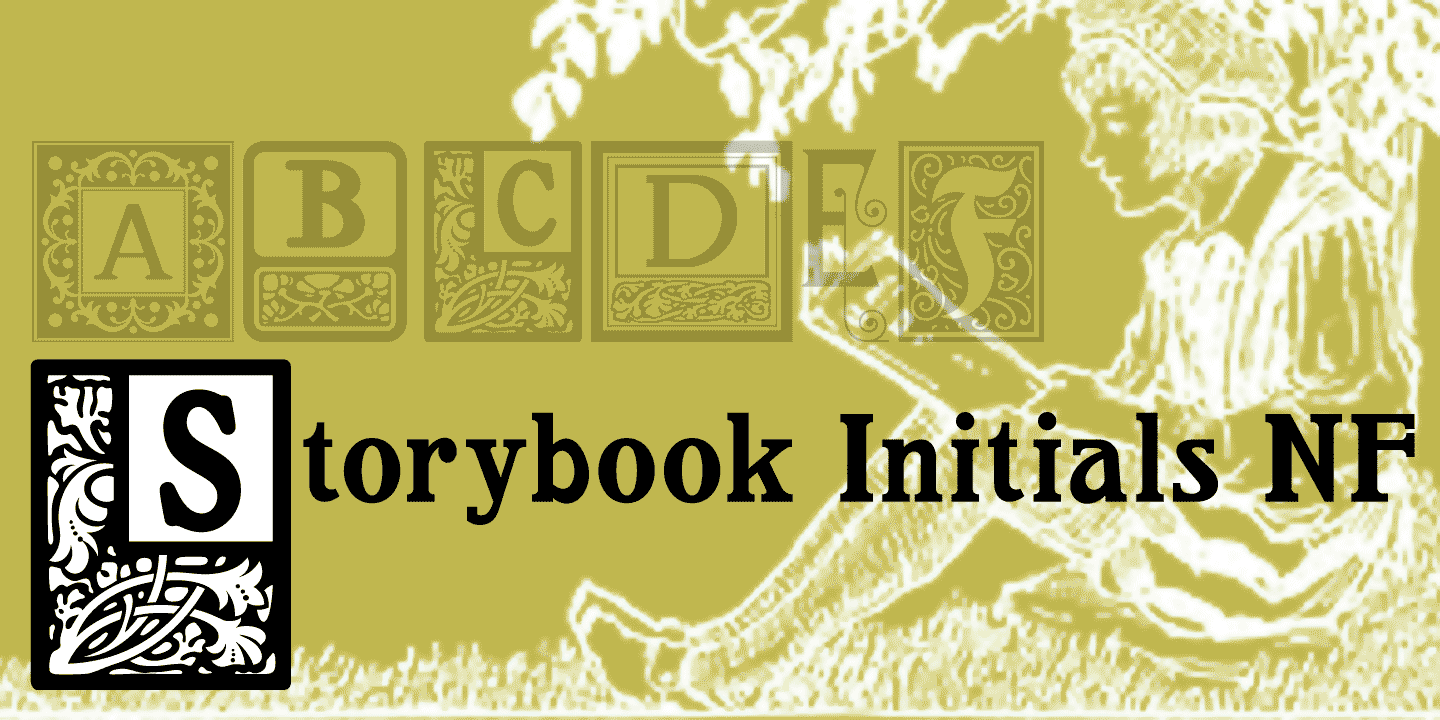 Storybook Initials NF